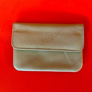 Buxton Genuine Vintage Leather Wallet in Tan